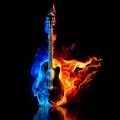 Burning Guitar HD
