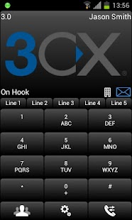 3CXPhone for Phone System v11 - screenshot thumbnail