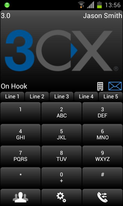 3CXPhone for Phone System v11 - screenshot