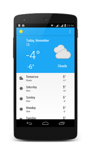 The Open Weather App