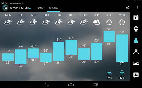 1Weather:Widget Forecast Radar v3.1