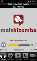 Screenshot of Mais Kizomba