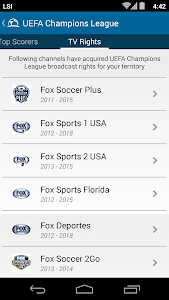 Live Soccer TV Broadcast Guide v3.1