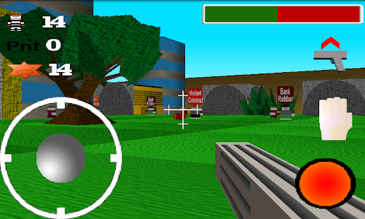 Quadroville 3D FPS - Free- screenshot thumbnail