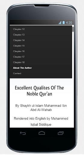 The Qualities Of Al-Quran