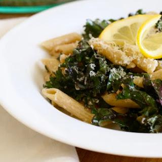 Lemony Kale Pasta.