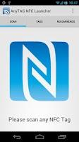 Screenshot of AnyTAG NFC Launcher