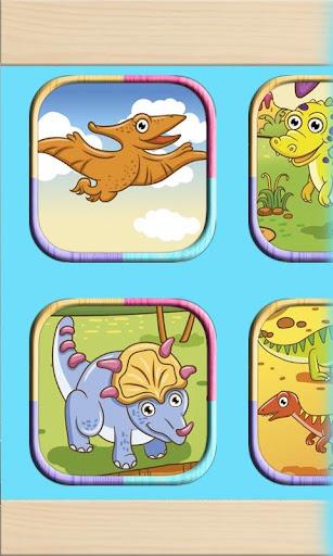 塗料や色の恐竜ゲーム