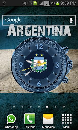 Reloj Argentina Live Wallpaper