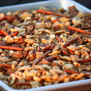 Slow Cooker Chex Mix.
