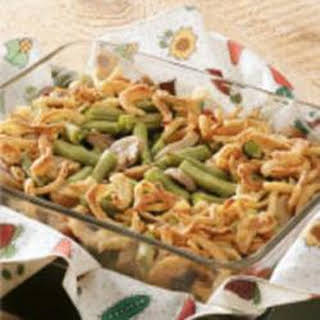 Mini Green Bean Casserole.