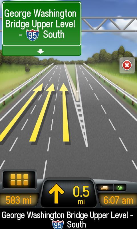 CoPilot Truck USA & CAN - screenshot