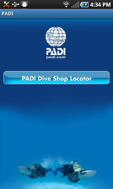 PADI - screenshot