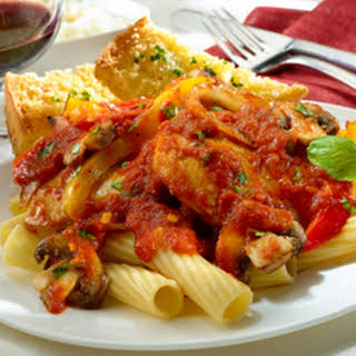 ''angry'' Balsamic Chicken Cacciatore.