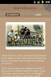 Throb Zombie - screenshot thumbnail