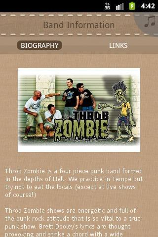 Throb Zombie - screenshot
