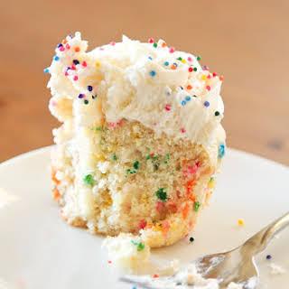 Vanilla Funfetti Cupcakes.