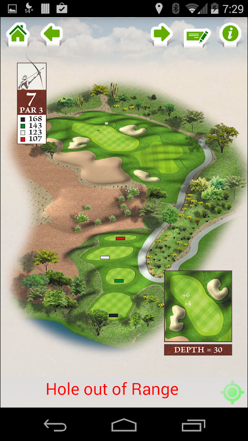 Longbow Golf Club- screenshot