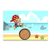 Jumping Pirate Free Kids Game