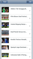 Screenshot of Berita Bola All In One