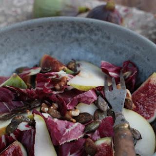 Fall Salad Medley with Pumpkin Seeds.