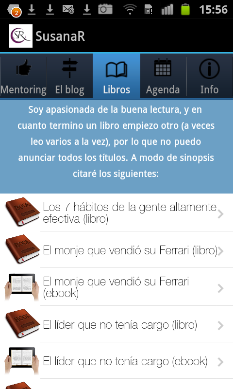 El blog de Susana Rodríguez- screenshot