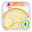 Cupid Arrow GO Locker Theme icon