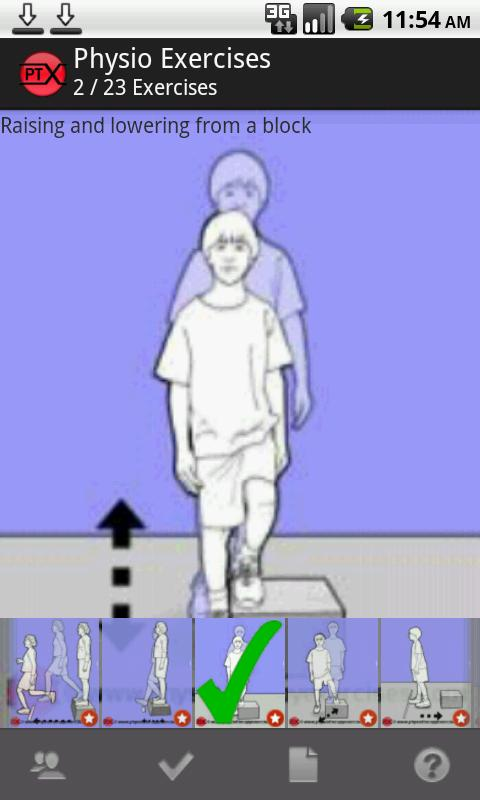 Physiotherapy Exercises- screenshot