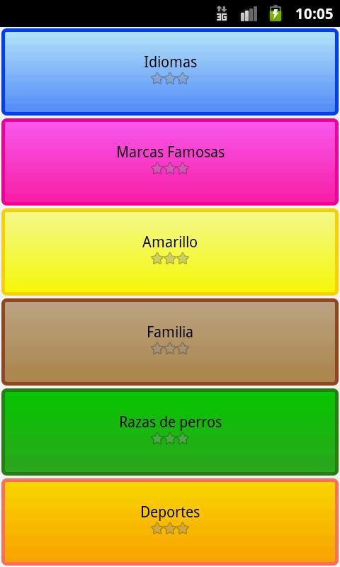 Sopa de Letras Trivial Español- screenshot