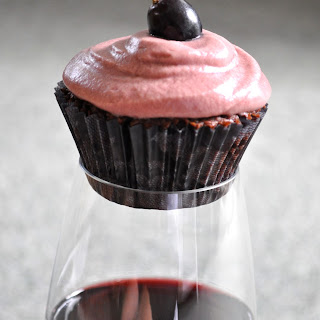 Red Wine Cupcakes
