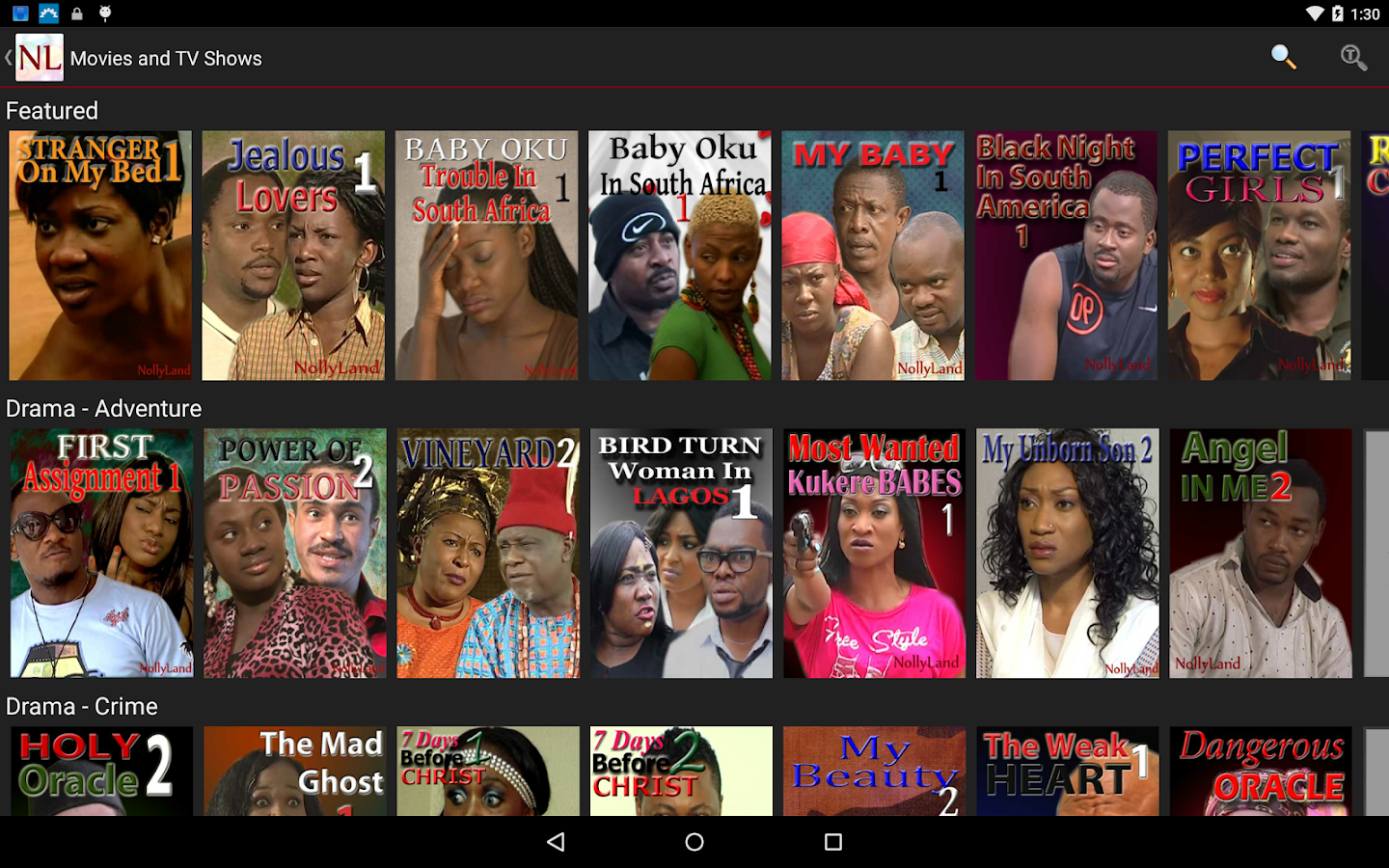 NollyLand - African Movies- screenshot