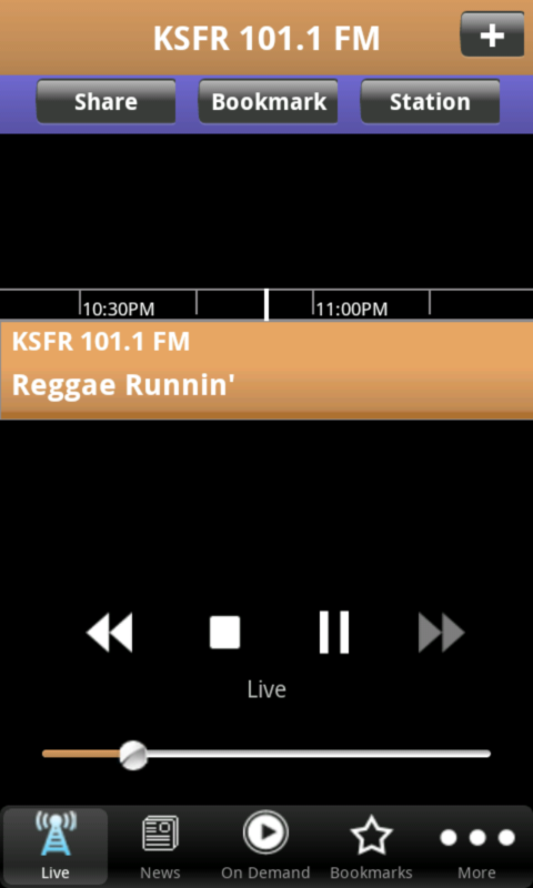 KSFR Public Radio App - screenshot