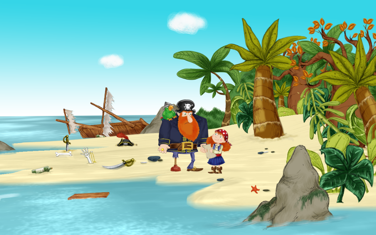Alizay, pirate girl - screenshot