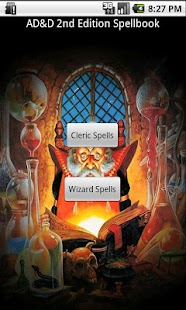 AD&D Spellbook for 2nd Edition - screenshot thumbnail
