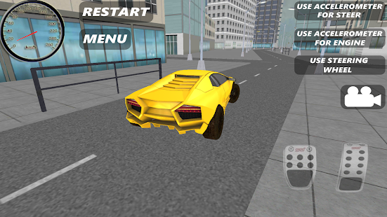 Sport Car Simulator HD- screenshot thumbnail