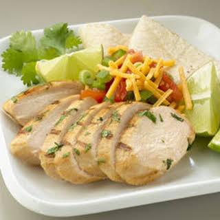 Honey-lime Cilantro Chicken.