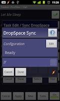 Screenshot of DropSpace Plugin For Tasker