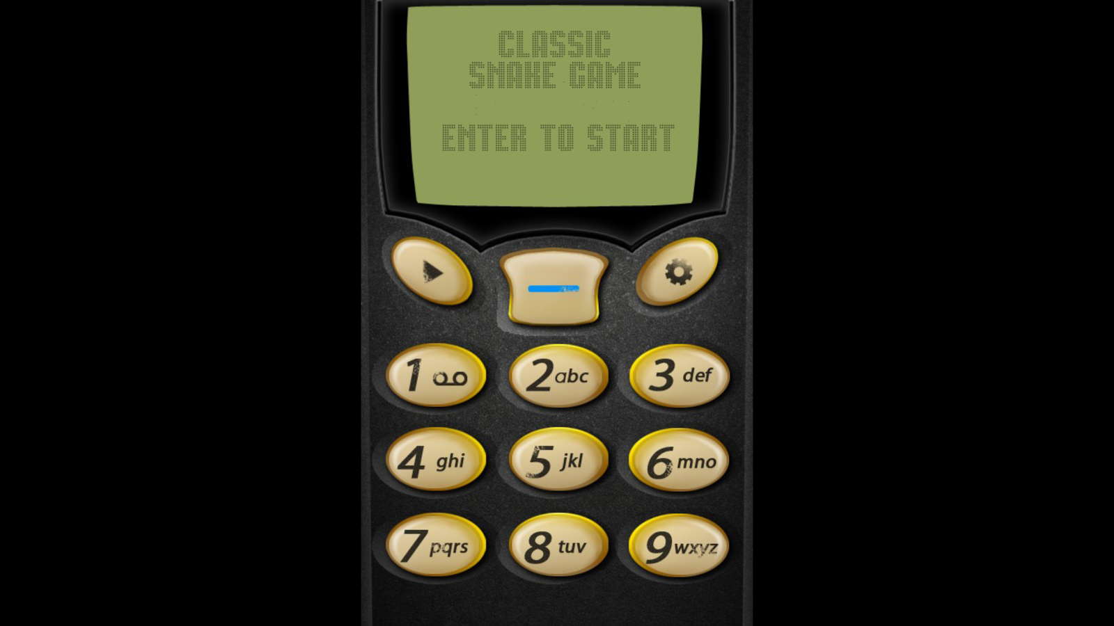 Classic Snake Game - screenshot