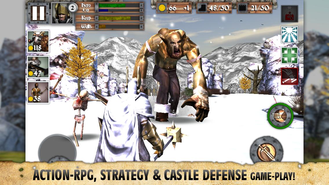 Heroes and Castles screenshot #2