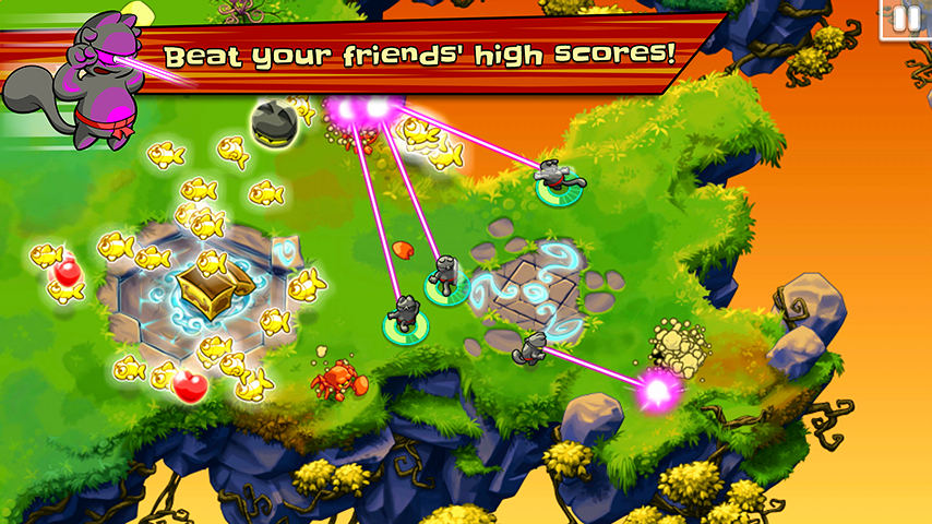Ninja Hero Cats- screenshot
