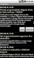 Screenshot of iszegedma