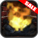 Virtual Romance Fireplace App icon