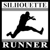Silhouette Runner Vector