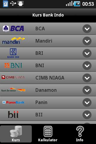 Kurs Bank Indo - screenshot