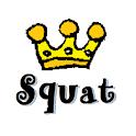 スクワットハムスター logo