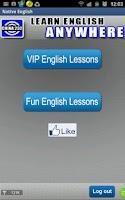 Screenshot of Learn Spoken English - Native