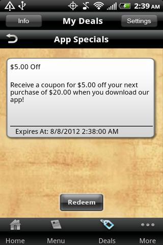Mike's Pizzeria- screenshot