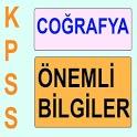 KPSS Cografya Kısa Bilgiler icon