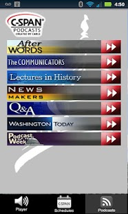 C-SPAN Radio - screenshot thumbnail