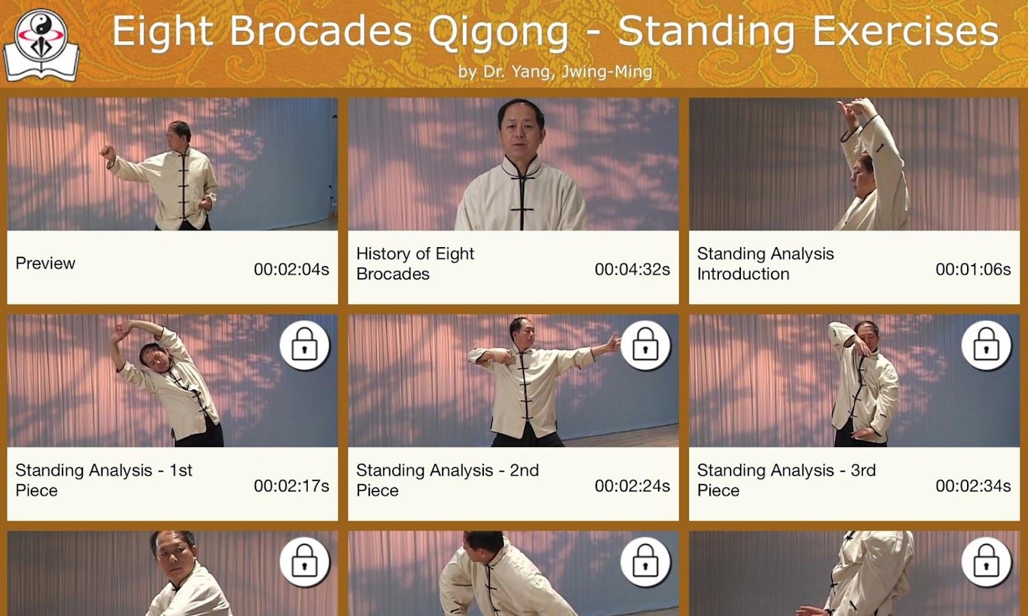 Eight Brocades Qigong Standing- screenshot